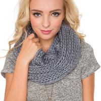 Once Upon A Time Scarf - Grey