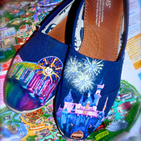 Disneyland Disney TOMS & Custom Toms You design them I paint them. Limited Time Low Price. NEW SHOP Limited time offer