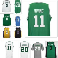 2017 New Kyrie Irving #11 jersey Men Draft Piack Kyrie Irving jersey Gordon Hayward Jayson Tatum Jerseys Paul George Lonzo Ball jersey
