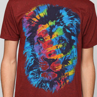 Lion Tie-Dye Tee - Urban Outfitters