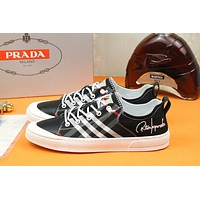 prada men fashion boots fashionable casual leather breathable sneakers running shoes 99