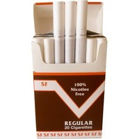 (FREE SHIPPING) ONE PACK Made In USA Since 1998 100% Nicotine Free(Cocoa Bean) Cigarettes Regular Flavor-Smooth Taste With A Pleasant Aroma. All Orders Are Ship Same Day Or Next Business Day