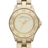 MARC BY MARC JACOBS 'Small Blade' Round Bracelet Watch
