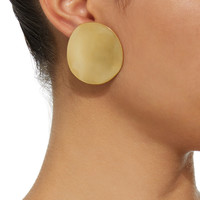 Cora Gold Vermeil Earrings | Moda Operandi