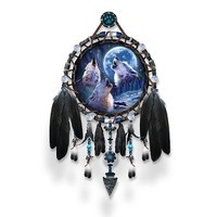 Dreamcatcher Collector Plate: Wolf Songs by The Bradford Exchange