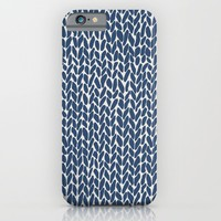 Hand Knit Navy iPhone & iPod Case by Project M