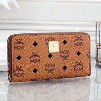 MCM Hot Sale Long Wallet, Coin Purse, Card Case, Multifunctional Fashion Ladies Clutch, Wallet