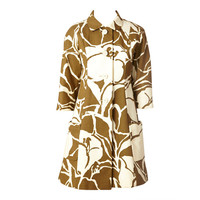 Chester Weinberg Graphic Pattern Coat