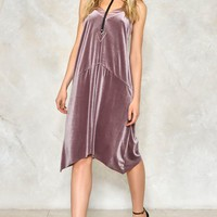 SMOOTH OPERATOR VELVET DRESS