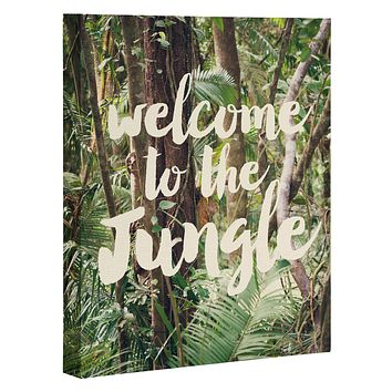 Catherine McDonald Welcome to the Jungle Art Canvas