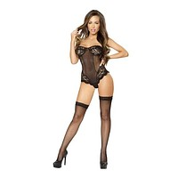 Strapless Lace Up Lingerie