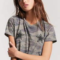 Star Graphic Camo Tee