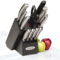Farberware Stamped Stainless Steel 12-piece Cutlery Set    Overstock.com