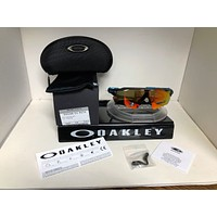 Oakley RADAR EV PATH SUNGLASSES AERO GRID GREY / PRIZM RUBY OO9208-6638
