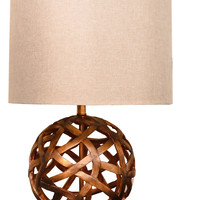 Michael Anthony Furniture Visionary Series Copper Round Lattice Table Lamp