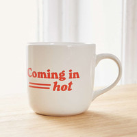Coming In Hot Mug - Urban Outfitters