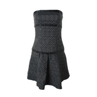 ABS Womens Woven Embellished Party Dress
