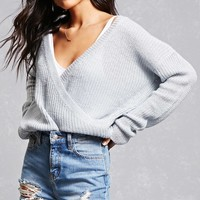 Lush Surplice Sweater