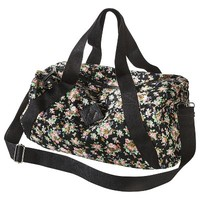 Mossimo Supply Co. Floral Duffle - Black