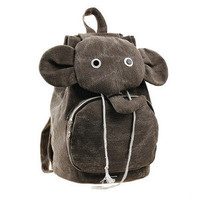 accessoryinlove — Cute Canvas Elephant Backpack