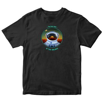 The Best Dad in the Galaxy Kids T-shirt