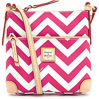 Dooney & Bourke Chevron Letter Carrier Cross-Body Bag | Dillards.com