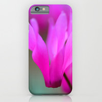 Wild Cyclamen  iPhone & iPod Case by Lena Photo Art