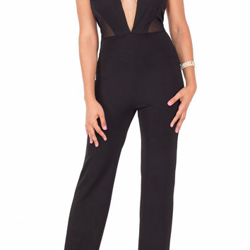 """""""Kendall"""" Perfect Fit Stretch Jumpsuit"""