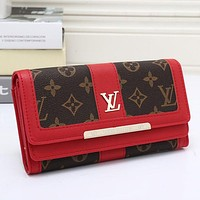 Perfect LV Women Leather Wallet Purse