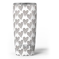 Hearts within Hearts - Skin Decal Vinyl Wrap Kit compatible with the Yeti Rambler Cooler Tumbler Cups