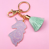 Unicorn Daydreams Keychain