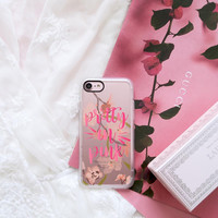 Beautiful iPhone 7 & 7 Plus Case (Pretty in Pink Pattern) by Casetify