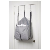 Loft By Umbra Roo Over-The-Door Laundry Bag - Grey