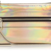 MILLY Demi Mini Cross-Body Bag,Turquoise,One Size