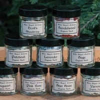 Witches Sacred Alchemy Set for Spells and by WhiteMagickAlchemy