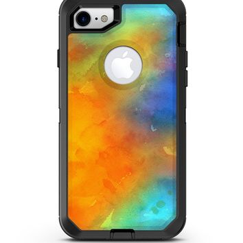 Mixed Orange 4 Absorbed Watercolor Texture - iPhone 7 or 8 OtterBox Case & Skin Kits