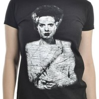 Bride Of Frankenstein Ladies T-Shirt :: VampireFreaks Store :: Gothic Clothing, Cyber-goth, punk, metal, alternative, rave, freak fashions