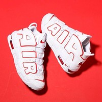 Nike Air More Uptempo ¡°OG Whtie&Red¡± Basketball Shoes 921948-102