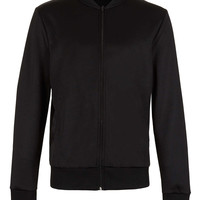 Black Tricot Bomber - New In - TOPMAN USA