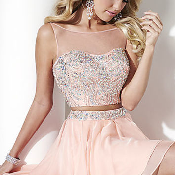 Two Piece Hannah S Prom Dress