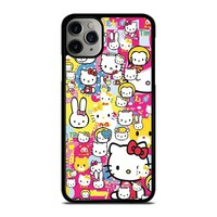 HELLO KITTY STICKER BOMB iPhone Case Cover