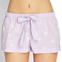 Palm Tree Sleep Shorts
