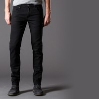 [Polychrom] Skinny Jeans in Pitch Black