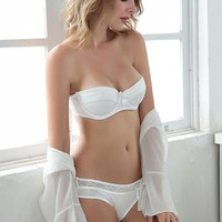 CINOON 2018 NEW Lace Bow Lingerie Set 1/2 Cup Sexy Intimates Push Up Bra Set Underwear Floral Embroidery Lace Women Bra Panty