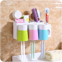 Rack Cup Tooth Brush Holder Set [6395684612]