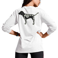 Halloween Campus Long Sleeve Tee - PINK - Victoria's Secret