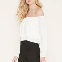 Off-the-Shoulder Layered Top | Forever 21 - 2000176763