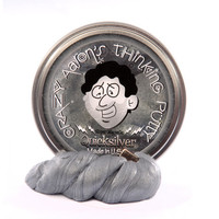Crazy Aaron's Quicksilver - Super Magnetic Thinking Putty 4 inch tin