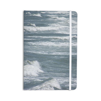 """Suzanne Carter """"Crest"""" Blue Gray Everything Notebook"""