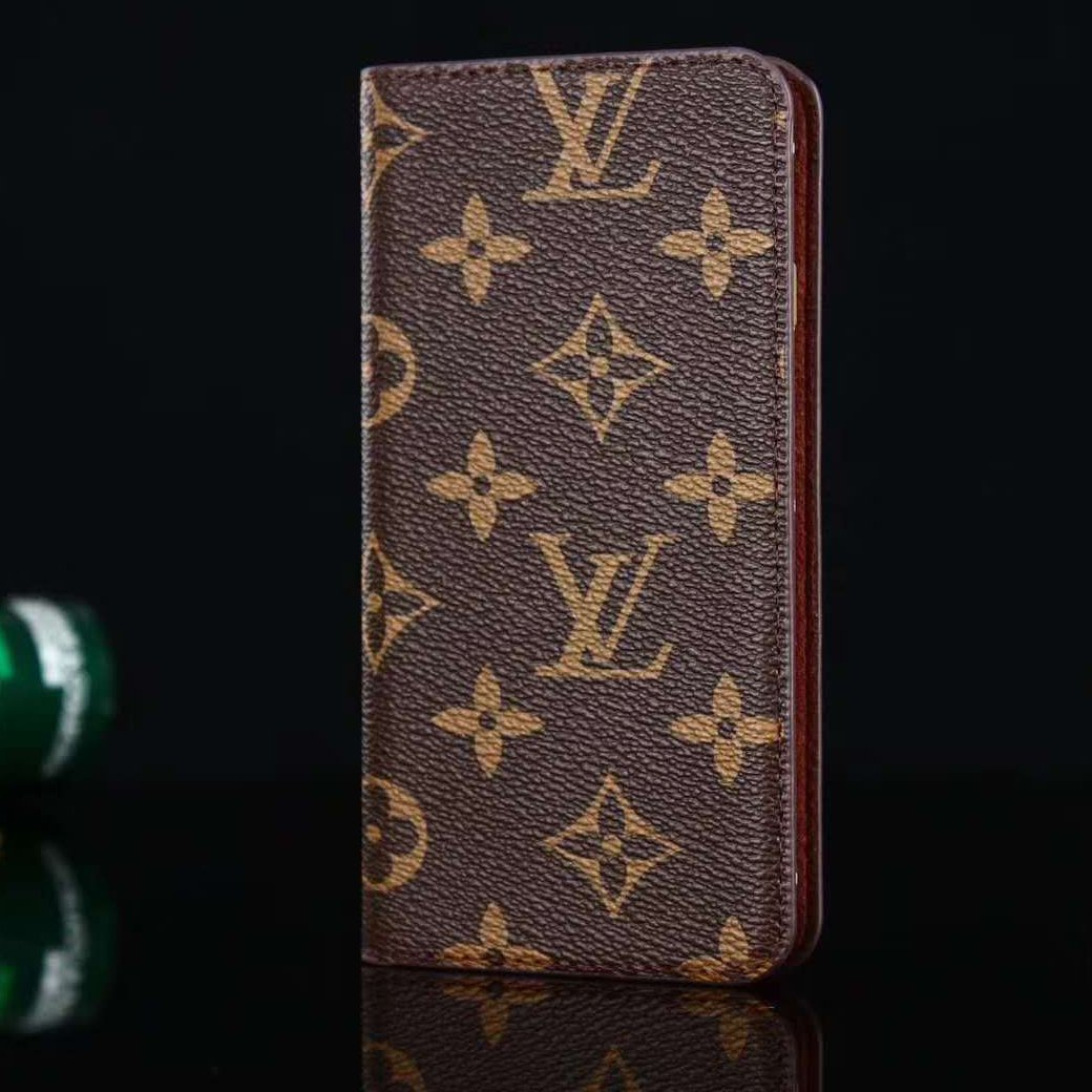 Image of Louis Vuitton LV Leather Fashion iPhone X XR XS XS MAX Phone Cover Case For iphone 6 6s 6plus 6s-plus 7 7plus 8 8plus X